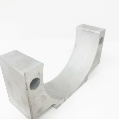 Waterjet Cut of 1.5 inch thick aluminum